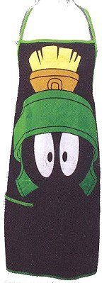 Looney Tunes Marvin the Martian Apron Whimsical Gift