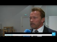 "Exclusive interview with Arnold Schwarzenegger, ""full of optimism"" on Paris Climate Conference - YouTube"