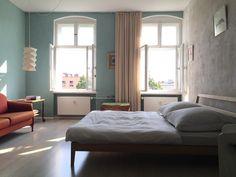 Sonniges, helles Schlafzimmer in Berlin #Schlafzimmer #Wohnen #Berlin