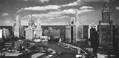Chicago Skyline Photo History