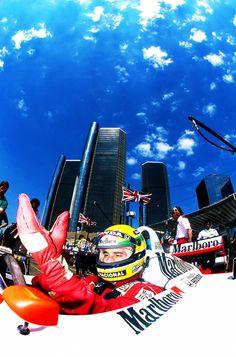scuderia-f1:  Ayrton Senna