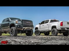 2015 Chevrolet Colorado & GMC Canyon 6-inch Suspension Lift Kit by Rough Country - YouTube