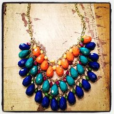 we are IN LOVE with this new necklace!!!