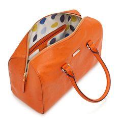 I love orange and Kate Spade.