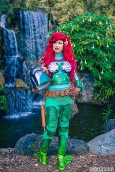Amazing Ariel/ Boba Fett cosplay!