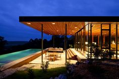 This home has a roof deck that can host large family gatherings and it also serves as a rain water harvesting surface.