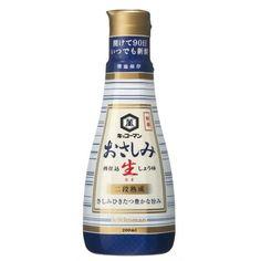 """Kikkoman Engineered """"Yawaraka Mippu Bottle"""" keeps Raw Soy Sauce fresh after opening."""