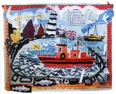 Mark Hearld's Boat (awsome)