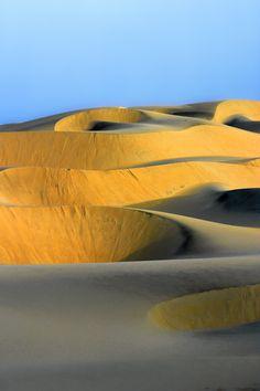 Dunes in Cumbuco, Brazil