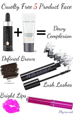Cruelty Free 5 Product Face