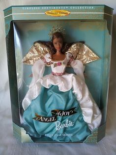 ANGEL OF JOY BARBIE DOLL 1st IN SERIES TIMELESS SENTIMENTS COLLECTION NRFB