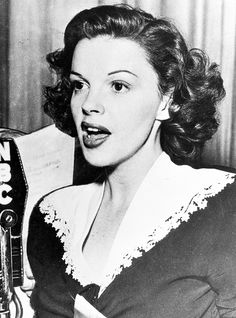 "Judy Garland 1944/ ""I got a call from Judy and she said ""I am at the St. Regis Hotel and I'm being beaten up right now."" I said ""Oh, My God!"" So my ex-wife said ""Call, Frank!"" He was down in Florida. I told him the situation. I was going right on stage, it's my opening night. I said ""Judy Garland is in trouble at the St. Regis."" He said ""I'll call you back in fifteen minutes....."