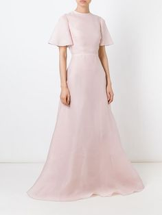 Valentino flared evening gown