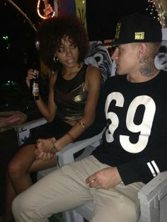 Loving interracial couple #wmbw #bwwm
