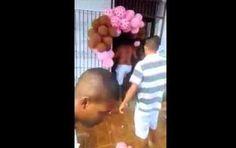 Homem apanhado a assediar uma criança é agredido por populares