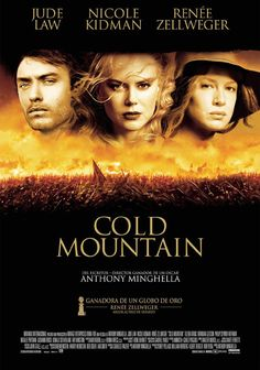 Cold Mountain with Jude Law, Nicole Kidman and Renee Zellweger Drama Movies, Hd Movies, Movies To Watch, Movies Online, Movies And Tv Shows, Movie Tv, Love Movie, Crazy Movie, Jude Law