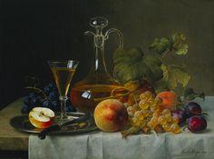Emilie Preyer, Still Life with Fruit, 1873