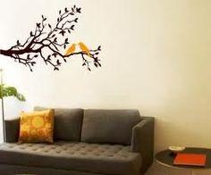 tree art on wall - Google Search