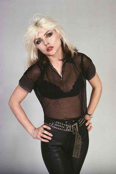 All black: Debbie in 1977