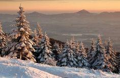 Czech Republic - The Krušné Mountains in winter Bergen, Czech Republic, Fall Winter, Mountains, Outdoor, Outdoors, Outdoor Games, The Great Outdoors, Bohemia