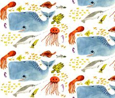 Underwater Friends  taraput