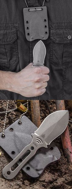 TOPS Knives FIEL Fixed Blade EDC Neck Knife @thistookmymoney
