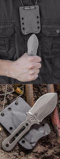 TOPS Knives FIEL Fixed Blade EDC Neck Knife @thistookmymoney