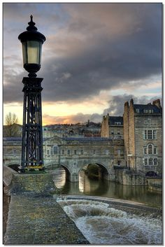 Bath, England--the Weir.  This is my favorite little city in the south!  We have a shot nearly identical to this one, taken in the spring of 2010.