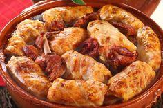 Traditional romanian food -SARMALE