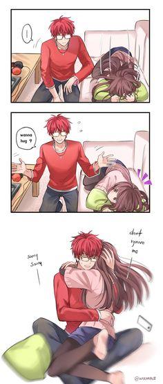 I want to hug Seven too ;-;
