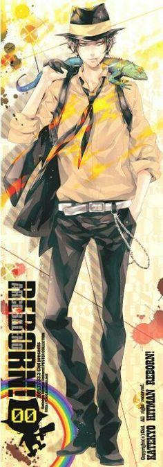 Reborn in adult form! #anime #Reborn #KHReborn .... HOT! <3