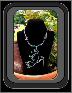 hummingbird+jewelryhummingbird+necklace+by+RosesWireArtJewelrY,+$64.00