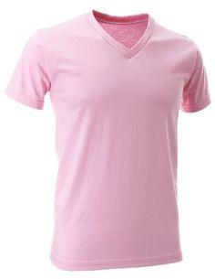 FLATSEVEN Mens V-Neck Cotton T-Shirts (TVS01) Pink, 2XL FLATSEVEN http://www.amazon.com/dp/B00E4HKBWM/ref=cm_sw_r_pi_dp_fcl0ub08W9TE2 #V-Neck Cotton #T-Shirts #FLATSEVEN #men #fashion