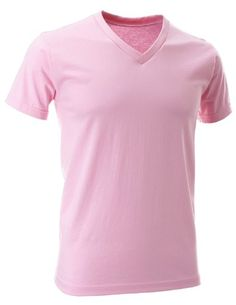 FLATSEVEN Mens V-Neck Cotton T-Shirts (TVS01) Pink, 2XL FLATSEVEN http://www.amazon.com/dp/B00E4HKBWM/ref=cm_sw_r_pi_dp_fcl0ub08W9TE2 #V-Neck Cotton #T-Shirts #FLATSEVEN #men #fashion