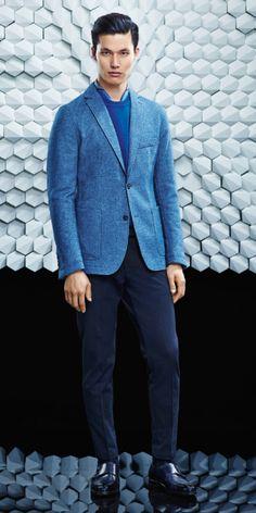 Hugo Boss Otoño Invierno 2015 2016 Fall Winter - #Menswear #Trends #Tendencias #Moda Hombre