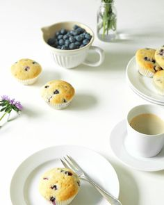 Rezept Blaubeer Buttermilch Muffins | food recipe blueberry muffins | waseigenes.com Blog