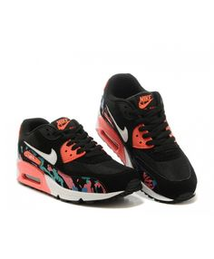 e0c98718f Nike Air Max 90 Womens Watermelon Red Running Shoes Sale UK