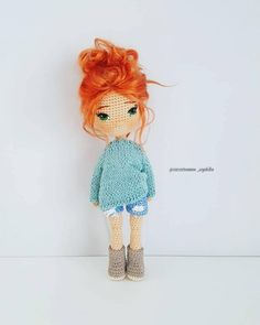 In this article we are waiting for you great amigurumi doll models. You can give yourself to these great amigurumi toys.Amigurumi may not seem like much in the minds of most of us. Actually, amigurumi is a Japanese art that Crochet Amigurumi Free Patterns, Crochet Doll Pattern, Crochet Toys, Free Crochet, Amigurumi Tutorial, Knitted Dolls, Cute Dolls, Stuffed Toys Patterns, Amigurumi Doll