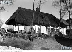 Daily life in the village of Bronowice (nowadays a district of the city of Kraków), Poland, Source: Narodowe Archiwum Cyfrowe.