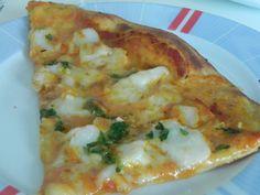Pizza de bacalao