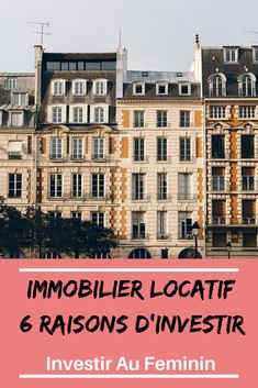 Immobilier Locatif : 6 Bonnes Raisons d'Investir Real estate remains the preferred investment of the French! Here are 6 main reasons why so many investors. Financial Peace, Financial Tips, Investing Money, Real Estate Investing, Real Estate Rentals, Home Buying Tips, Fast Cash, Budgeting Finances, Work From Home Jobs