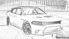 Image result for dodge charger coloring pages auto Pinterest