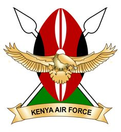 Kenya Air Force. Escudo.