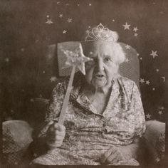 """""""Gigi in the Sky"""" by Alix Bérard. A series he made with his grandmother. Won 1st prize at Pola Festival"""