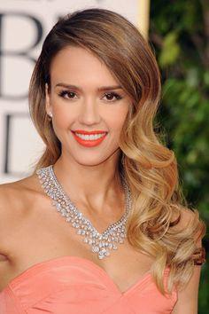 Celebrity Beauty Looks: Side-Swept Waves