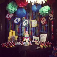 Uno themed birthday