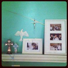 Religious memo shelf