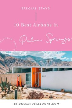 Find the most spectacular Airbnbs in Palm Springs. A curated Palm Springs Airbnb edit, featuring the best mid-century design and kitsch interiors. Luxury Travel, Travel Usa, Spain Travel, California Travel, Airbnb California, Travel Oklahoma, Travel Reviews, Travel Articles, International Travel Tips