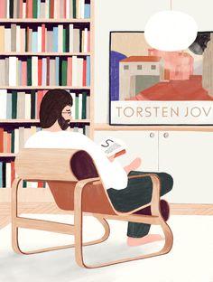 illustration by Oscar Grønner Character Illustration, Graphic Design Illustration, Illustration Art, Collaborative Art Projects, Illustrator Tutorials, Illustrations Posters, Character Design, Blog, Design Inspiration
