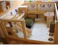 We recommend an indoor rabbit playpen as the home for your bunnies. An indoor bunny playpen keeps them safe from predators, mozzies a. Indoor Rabbit House, House Rabbit, Rabbit Hutch Indoor, Bunny Cages, Rabbit Cages, Rabbit Pen, Pet Rabbit, Guinea Pig House, Guinea Pigs